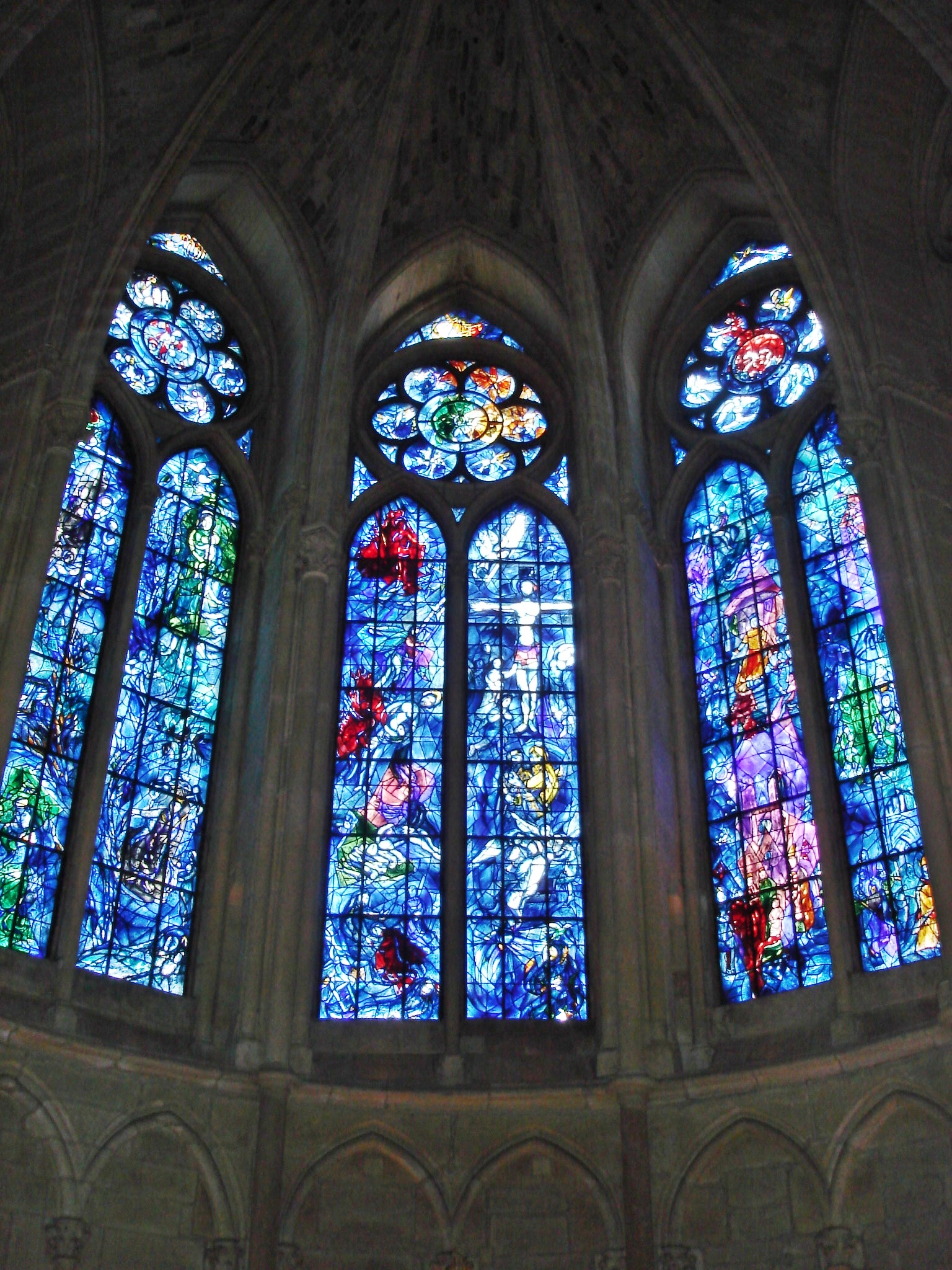 Chagall windows reims cathedral