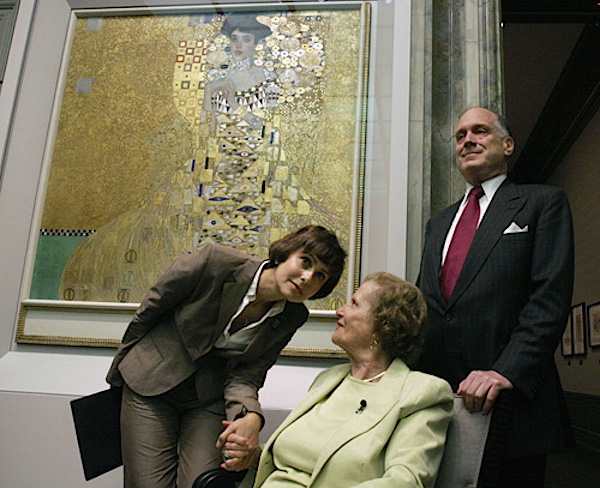 Maria altmann at neue galerie after woman in gold acquisitionMa
